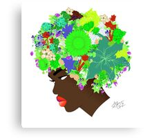 Flower 'Fro ver. 6 Canvas Print