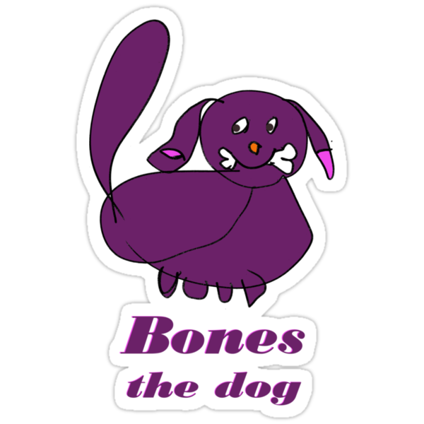 Bones the Dog by Anne van Alkemade