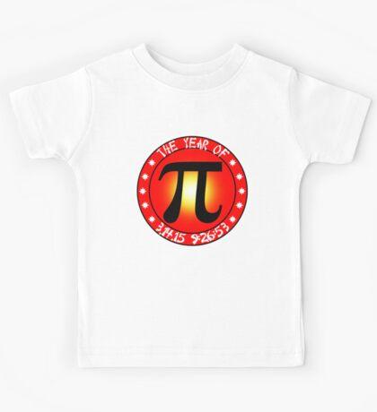 Year of Pi  3/14/15 9:26:53  Kids Tee
