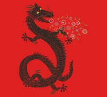 Flower-breathing Dragon Kids Clothes