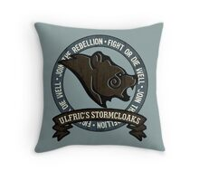 Join the Stormcloak Rebellion Throw Pillow