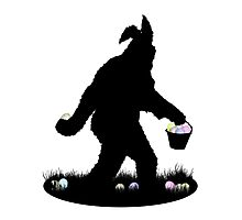 Gone Easter Squatchin Photographic Print
