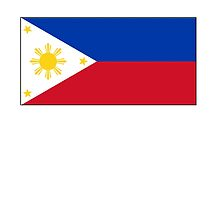 Philippines, Philippine Flag, Flag of the Philippines by TOM HILL - Designer
