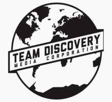 Team Discovery Logo - Black Kids Tee