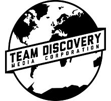 Team Discovery Logo - Black Photographic Print