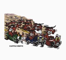 CATTLE DRIVE by ROB51