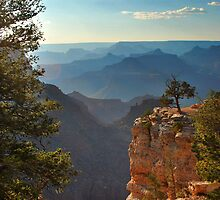 Sun Setting on Grand Canyon  by Gregory Ballos | gregoryballosphoto.com