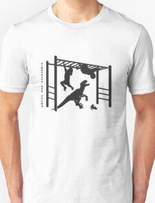 Dinosaurs are [JERKS] - Monkey Bars T-Shirt