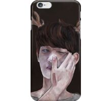 Precious deer minho iPhone Case/Skin