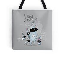 Use condoms Tote Bag