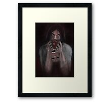 BLOOD HUNGER ! Framed Print