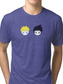 NS Love Pattern Tri-blend T-Shirt
