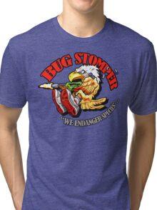 USCM BUG STOMPER! Tri-blend T-Shirt