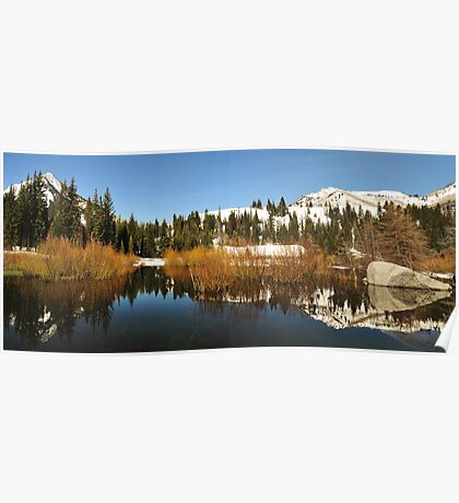Beaver Ponds Big Cottonwood Canyon Poster