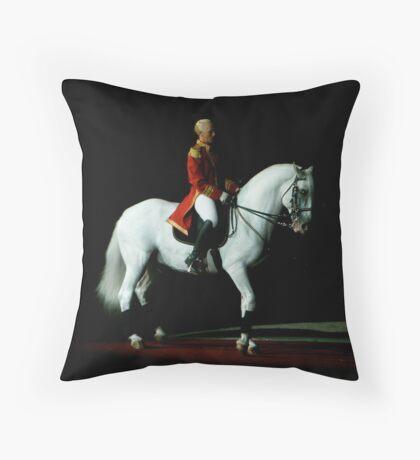 Lipizzaner Stallion  Throw Pillow