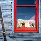 Face in the window - Tasmania by Hans Kawitzki