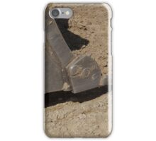 Where the steel meets the dirt iPhone Case/Skin