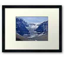 Athabaska Glacier Framed Print
