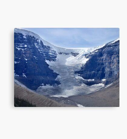 Athabaska Glacier Canvas Print