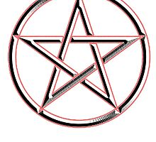 WICCA, Witch, Wizard, Pentacle, modern Pagan, Witchcraft, religion. by TOM HILL - Designer