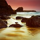 Golden Light at Kynance Cove by Hugster62