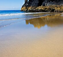 Deserted Housel Bay Beach, The Lizard Cornwall by Hugster62