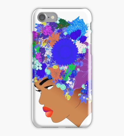 Flower 'Fro ver. 11 iPhone Case/Skin
