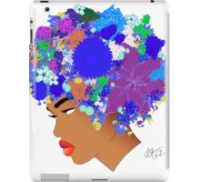 Flower 'Fro ver. 11 iPad Case/Skin