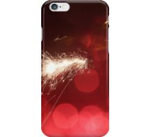 Playing with fireworks iPhone Case/Skin