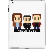 Hello Boys iPad Case/Skin
