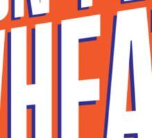 Don't Eat Wheat Gluten-Free Wheaties Logo Sticker