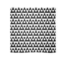 Pattern 260514 - Black on White Scarf