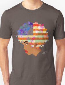 American Flower 'Fro ver. 2 Unisex T-Shirt