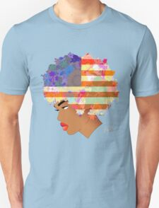 American Flower 'Fro ver. 2 T-Shirt