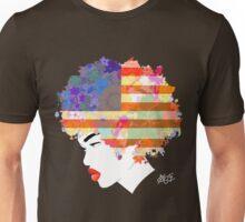 American Flower 'Fro ver. 3 Unisex T-Shirt