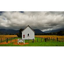 Lonesome Faith of the Golden Fields Photographic Print