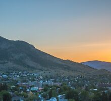 Mount Helena Sunset by Sue Morgan