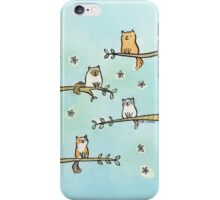 Cats in Trees iPhone Case/Skin