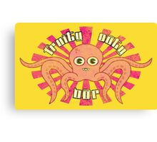 "Fruity Oaty Bar! ""OCTOPUS"" (Vintage) Canvas Print"