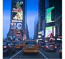 Times Square Taxi   by gMuhtar