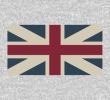 UK Flag One Piece - Long Sleeve