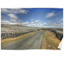 The Burren Road Poster