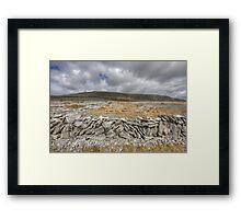 Slieve Carran Framed Print