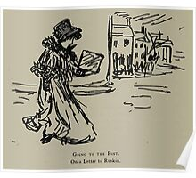 Kate Greenaway Collection 1905 0404 Going to the Post Letter to Ruskin Poster