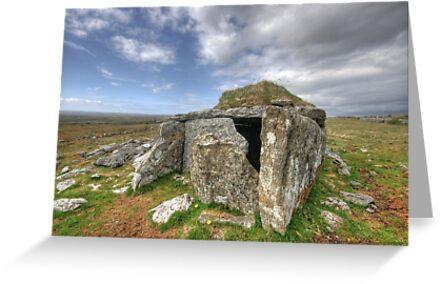 Parknabinna Wedge Tomb by John Quinn