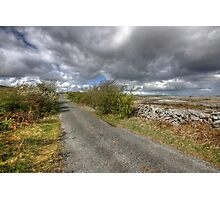 Rural Burren Road Photographic Print