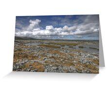 Burren Turlough Greeting Card