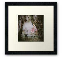 real alcázar Framed Print