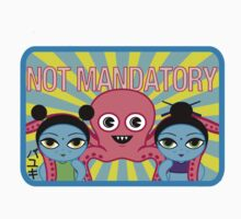 "Fruity Oaty Bar! ""NOT MANDATORY 2"" Shirt (Firefly/Serenity) Kids Clothes"