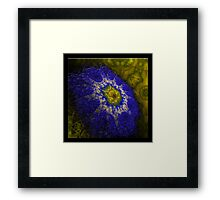 ©DA FS Blue Dream IAB2D. Framed Print